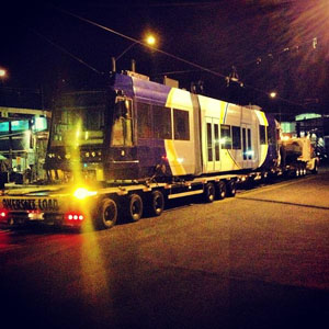 Tucson first streetcar arrives