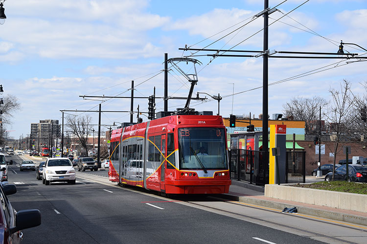 Washington streetcar Benning Road